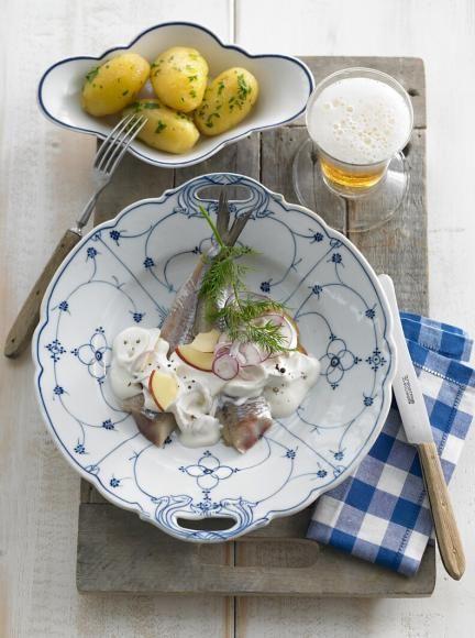 Matjes nach Hausfrauenart mit Kartoffeln