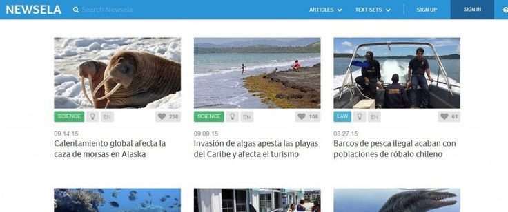 """Newsela, which is on The Best Places To Get The """"Same"""" Text Written For Different """"Levels"""" list, has now begun to provide Spanish translations of some articles, including providing them at differen..."""