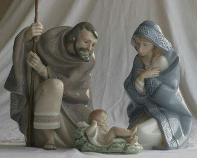 Lladro Nativity Set Joseph, Mary, Jesus, 01005476 01005477 01005478 BRAND NEW | eBay