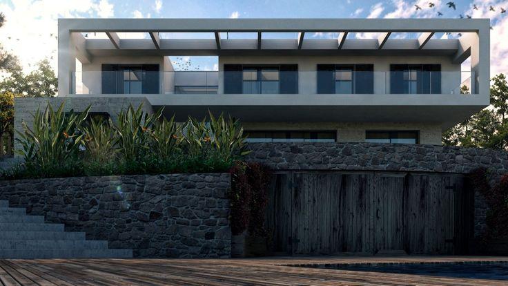 House in Costa d'en Blanes // ArQ3d // www.arq3d.net
