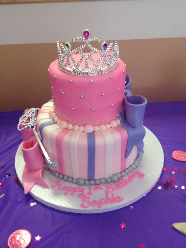 Sophia s Princess 1st Birthday cake! Birthdays ...