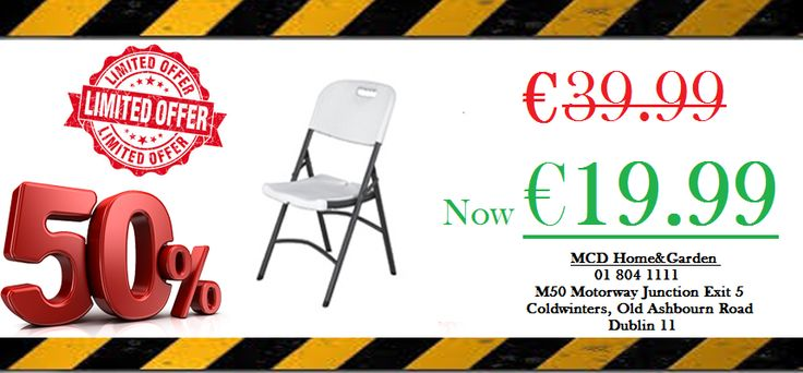 For more info  01 804 1111 sales@mcdhomeandgarden.ie