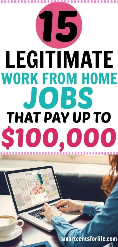 15 Legitimate Work-from-Home Jobs that Pay Up to $100,000+ A Year– With No College Degree – Money & Opportunities