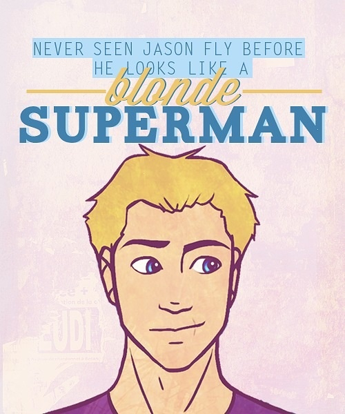Jason Grace, The blonde Superman | Jasper | Pinterest ...  Jason Grace, Th...