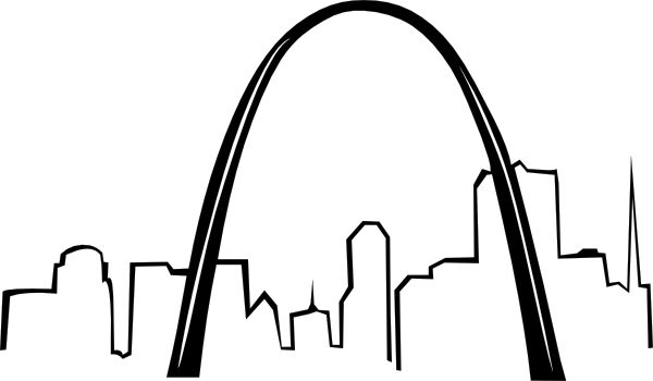 St. Louis Arch coloring pages | Large