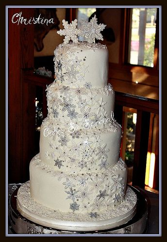 ... Cake on Pinterest | Winter wedding cakes, Winter weddings and