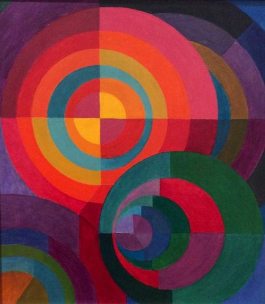 Johannes Itten (1888 - 1967) - Circles - 1916