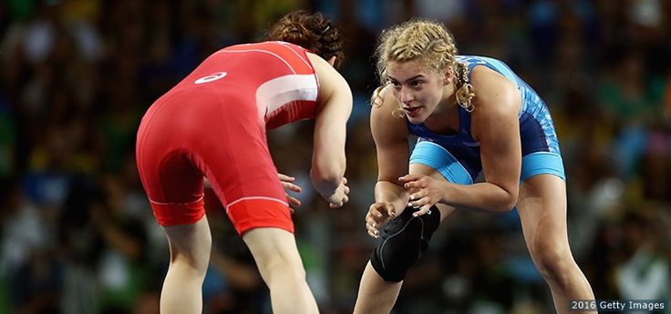 Helen Maroulis, Wrestling:      Helen Maroulis celebrates after defeating Saori Yoshida of Japan in the women's freestyle 53 kg. gold-medal match at the Rio 2016 Olympic Games at Carioca Arena 2 on Aug. 18, 2016 in Rio de Janeiro.  -    The Best Photos From Rio 2016: Aug. 18 Edition