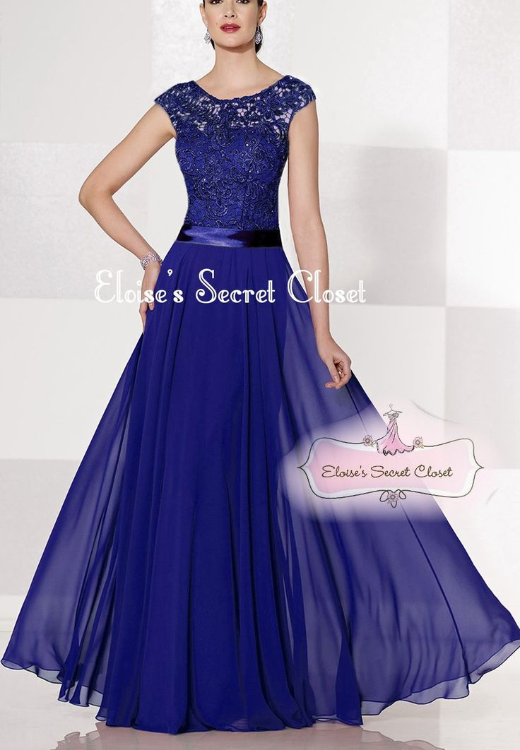 136 best Cobalt Sapphire Blue Bridesmaid Dresses images on Pinterest