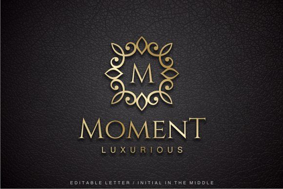 Moment - Letter M Logo by yopie on @creativemarket