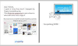 My digital storytelling trip