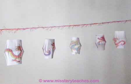 Guirlande de lanternes - Nouvel an chinois