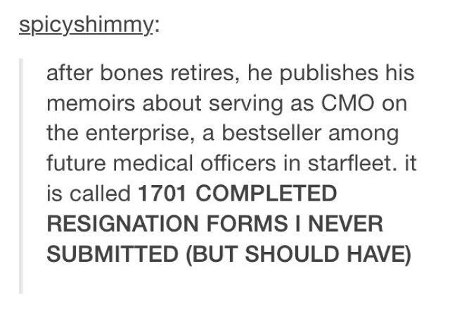 more bones but no shame
