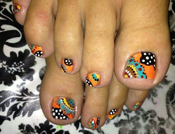 17 best ideas about fall toe nails on pinterest toenail
