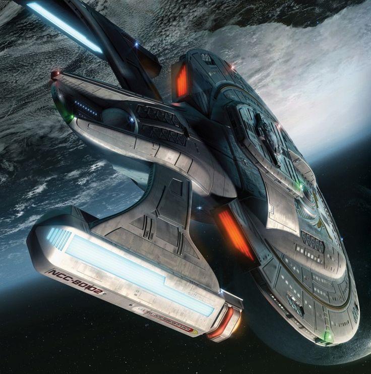Star Trek USS Enterprise NCC-80102 Titan
