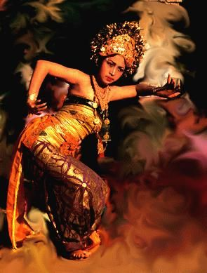Beautiful Picture of a Balinese Dancer