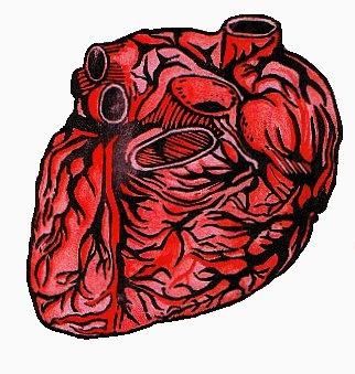 ay mi corazón. #linocut #linopriting #hearth #corazón #printing #red #<3 #grabado