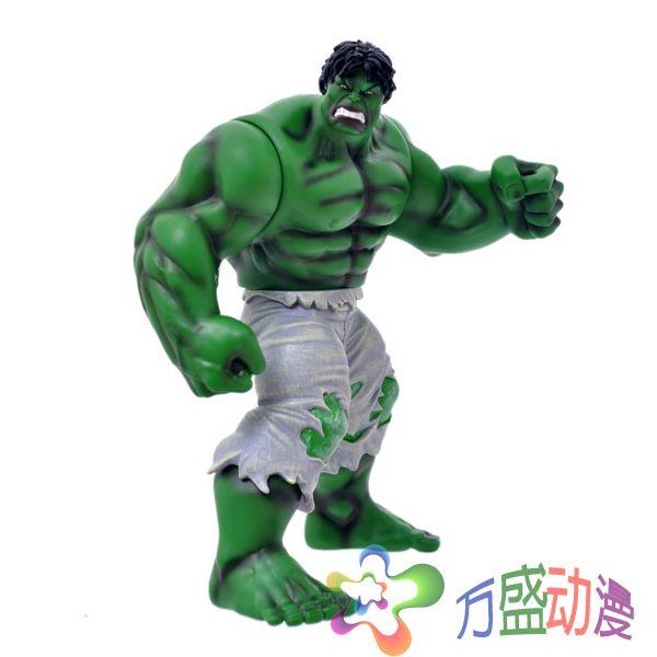 Ems бесплатная доставка фильм супергерой мстители халк пвх фигурку коллекционная модель игрушки 13  33 см HRFG214