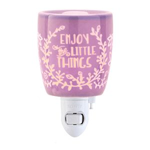 RW - Enjoy the Little Things - Mini Warmer - Converts to table top warmer with the purchase of a converter kit. Two warmers in one.