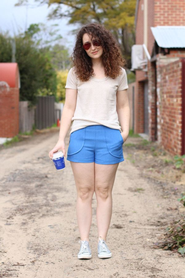 that time i made polyester shorts and liked it http://blog.megannielsen.com/2016/08/polyester-harper/?utm_campaign=coschedule&utm_source=pinterest&utm_medium=Megan%20Nielsen%20Patterns&utm_content=that%20time%20i%20made%20polyester%20shorts%20and%20liked%20it