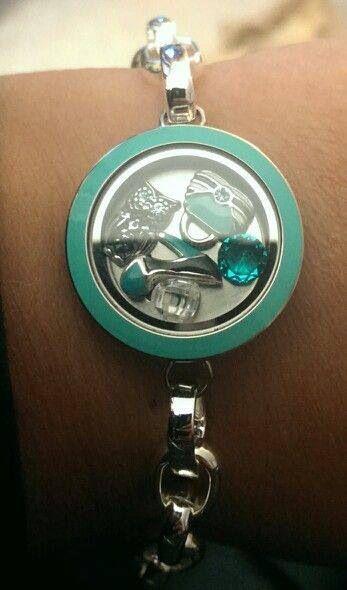 LOVING this Origami Owl bracelet color combination!!! Follow BRIANNA JOHNSON on FB! www.facebook.com/lovelovelockets