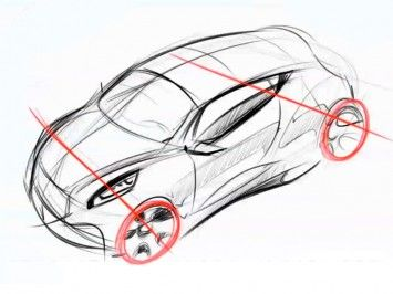 how to draw vehicles in perspective
