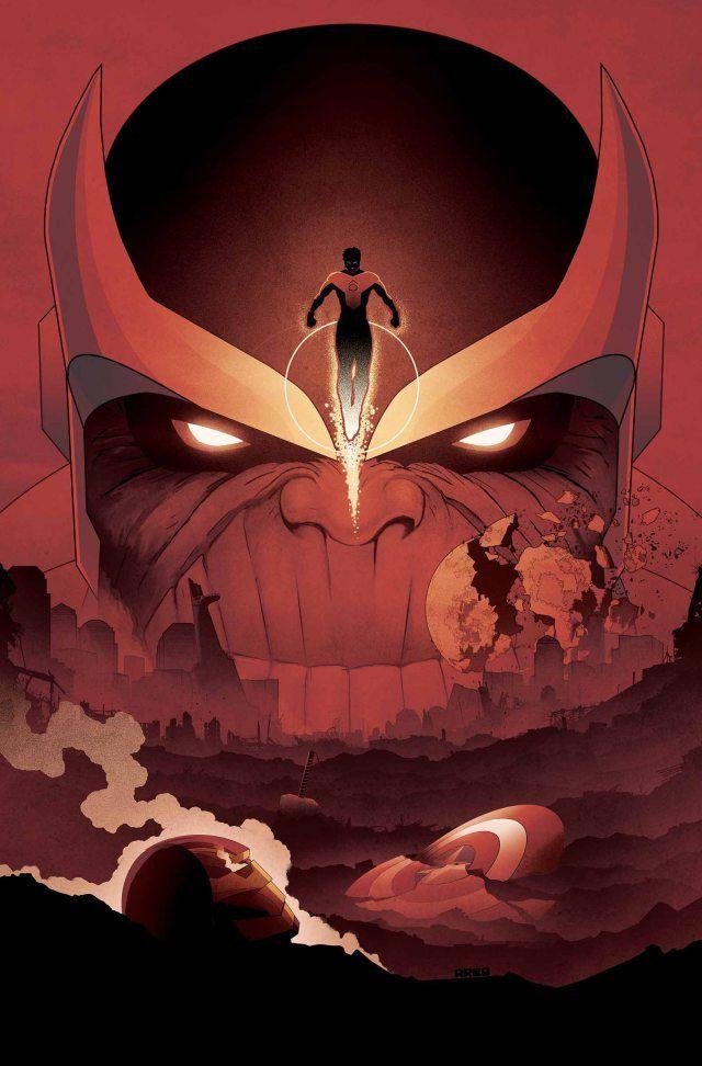 Matt Ferguson - What If Infinity Marvel Covers