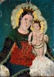 """""""La Virgen del Refugio"""" attr: Geronimo de Leon --"""