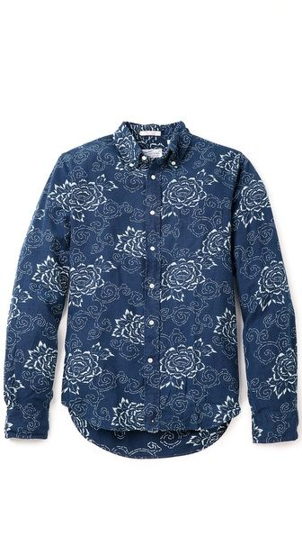 Indigo Oxford Shirt by Gant Rugger