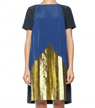 Pleated Pyramid dress Gorman