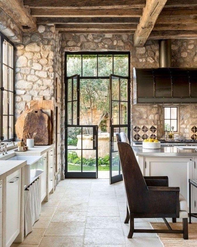 Architecture Interior Design On Instagram Get Inspired Visit Www Myhouseide Cuisines De Campagne Francaise Cuisine Rustique Decoration Interieure Cuisine