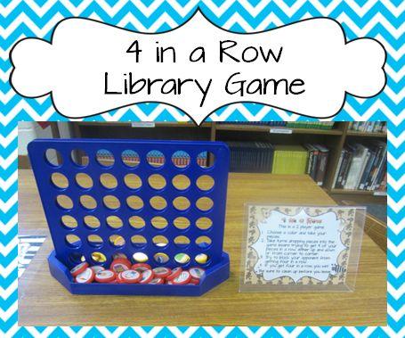 Classroom Freebies: Fun 4 in A Row Game Freebie