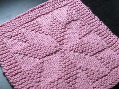 Free Knit Cotton Dishcloth Patterns | Free dishcloth pattern on Ravelry.com