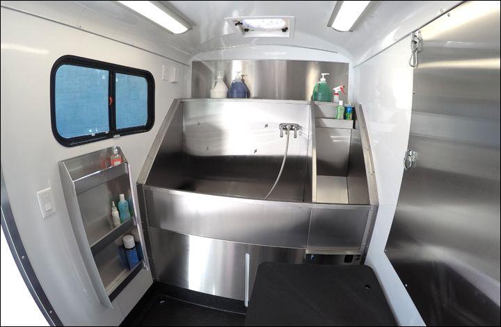 Best 25 mobile pet grooming ideas on pinterest pet for Grooming shop floor plans