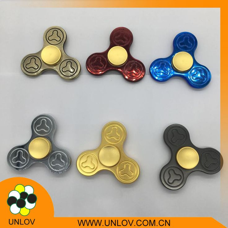 Spinner Fidget EDC ADHD Focus Toy Ultra Durable High Speed 1-5 Min Spins Precision brass material