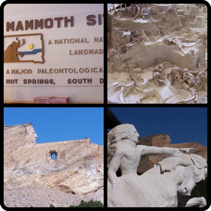 Mammoth Site - Hot Springs, SD & - Crazy Horse Memorial - Crazy Horse, SD