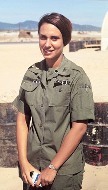 Nurse Lt. Bernie Gonda 1968 Army Vietnam 27TH SURGICAL HOSPITAL Chu Lai Air Base