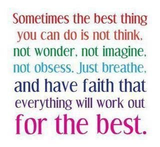Faith ♥: Just Breath, Remember This, Sotrue, Quote, Work Outs, Havefaith, So True, Have Faith, Good Advice