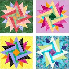 Indian Summer Paper ... by PieceByNumber | Quilting Pattern. Free pattern