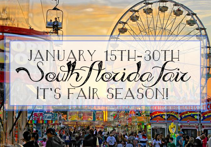 The South Florida Fair Is Back! - The fun and thrilling South Florida Fair is coming town this weekend and will be here throughout the rest of the month. The south Florida Fair is located out near Wellington, is one of the biggest events to hit south Florida and it has been long celebrated as a favorite pastime for kids and adults alike.  #southfloridafun   #southfloridafair