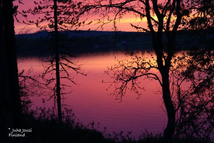 Silence lake Kuusamo Finland by Juha Jousi