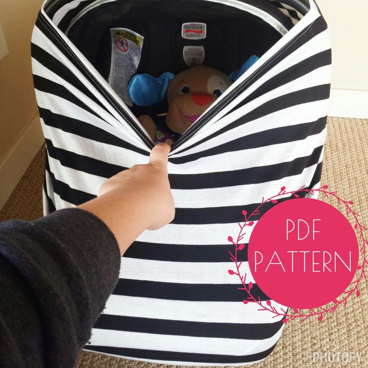 Stretchy Car Seat Cover Sewing Pattern Diy Stretchy Car