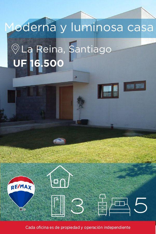 [#Casa en #Venta] - Moderna y luminosa casa en Condominio 🛏: 5 🚿: 3  👉🏼 http://www.remax.cl/1028053013-1 #propiedades #inmuebles #bienesraices #inmobiliaria #agenteinmobiliario #exclusividad #asesores #construcción #vivienda #realestate #invertir #REMAX #Broker #inversionistas #arquitectos #venta #arriendo #casa #departamento #oficina #chile