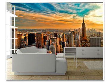 Fototapete fensterblick skyline  65 besten Fototapete Bilder auf Pinterest | Fototapete, Tapeten ...