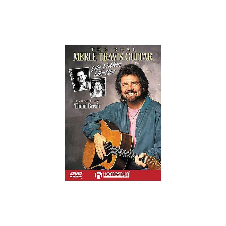 Homespun The Real Merle Travis Guitar (DVD)
