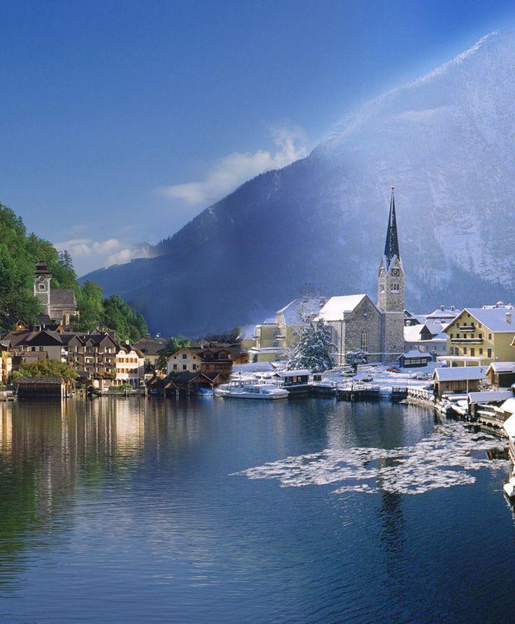 Hallstatt, Austria: #science #nature