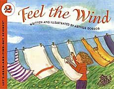 good kids book about how wind impacts weather, what causes wind, how humans use it...