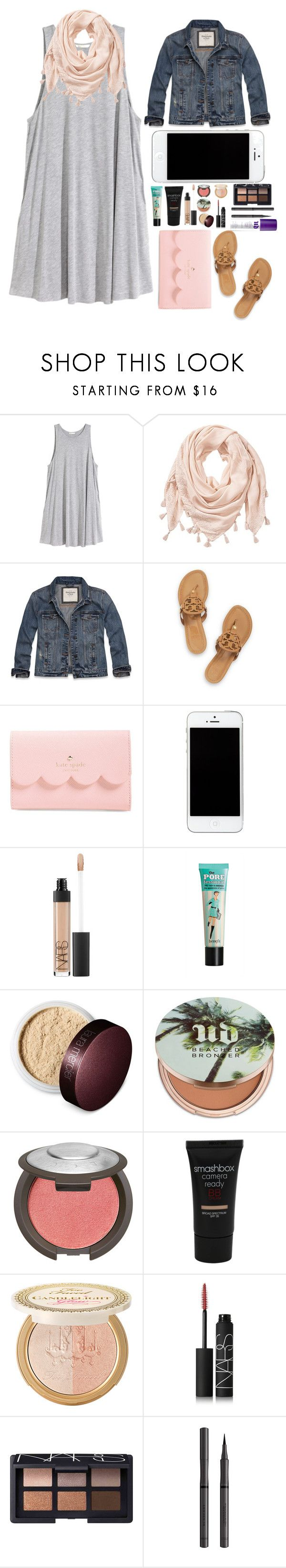 """""""Thanks for 500 followers!!"""" by bowhunter1498702 ❤ liked on Polyvore featuring H&M, Abercrombie & Fitch, Tory Burch, Kate Spade, NARS Cosmetics, Laura Mercier, Urban Decay, Smashbox and Burberry"""
