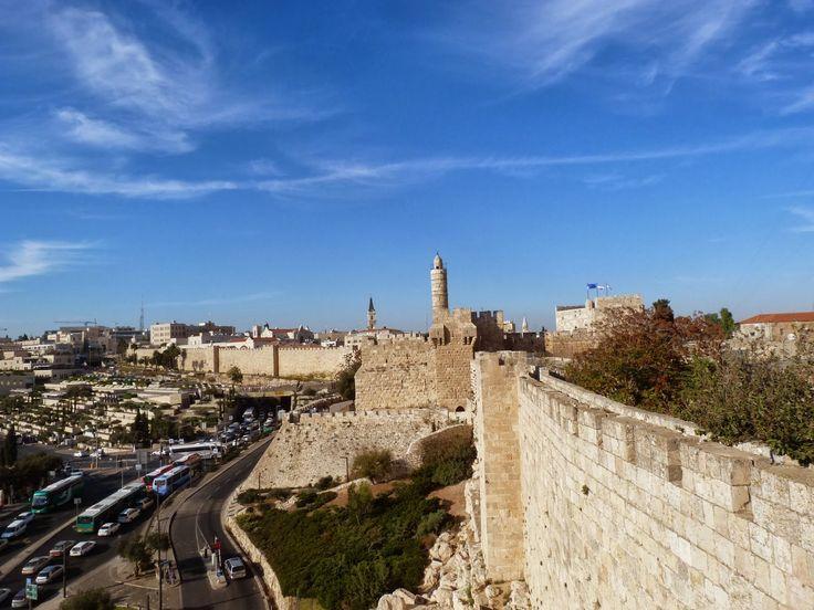 Panorámica de Jerusalem
