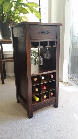 Mini Wine bar | Do It Yourself Home Projects from Ana White